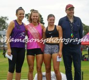 Meg Dean 800m Womens Winner